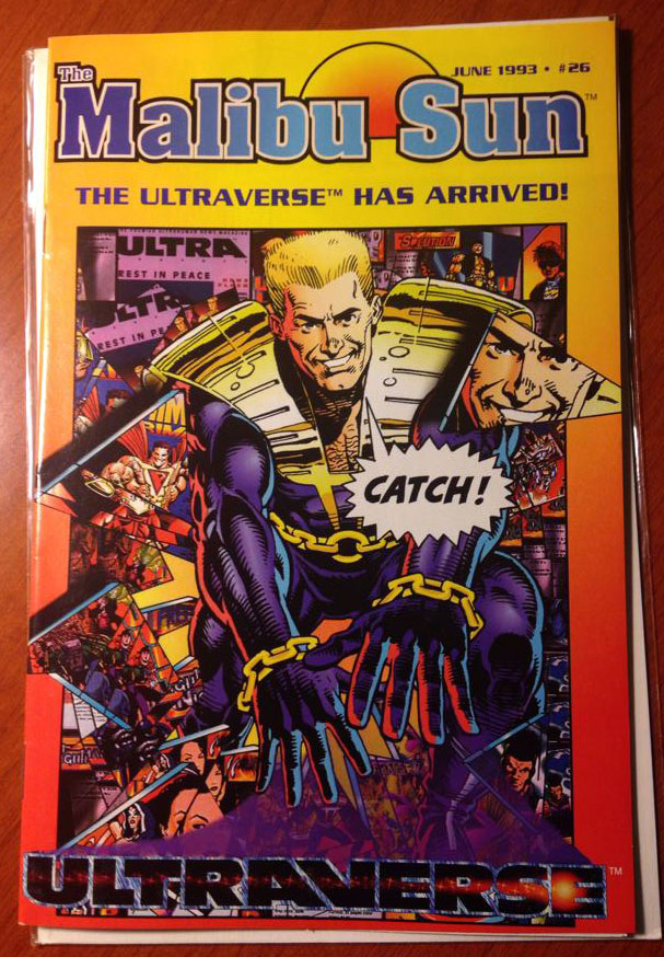 Malibu Sun #26 featuring the Ultraverse