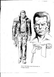 Firearm character design