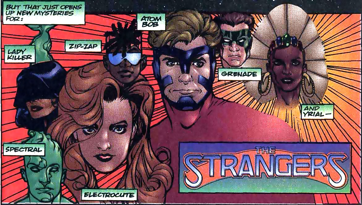 Strangers by Adam Hughes from Ultraverse Origins #1