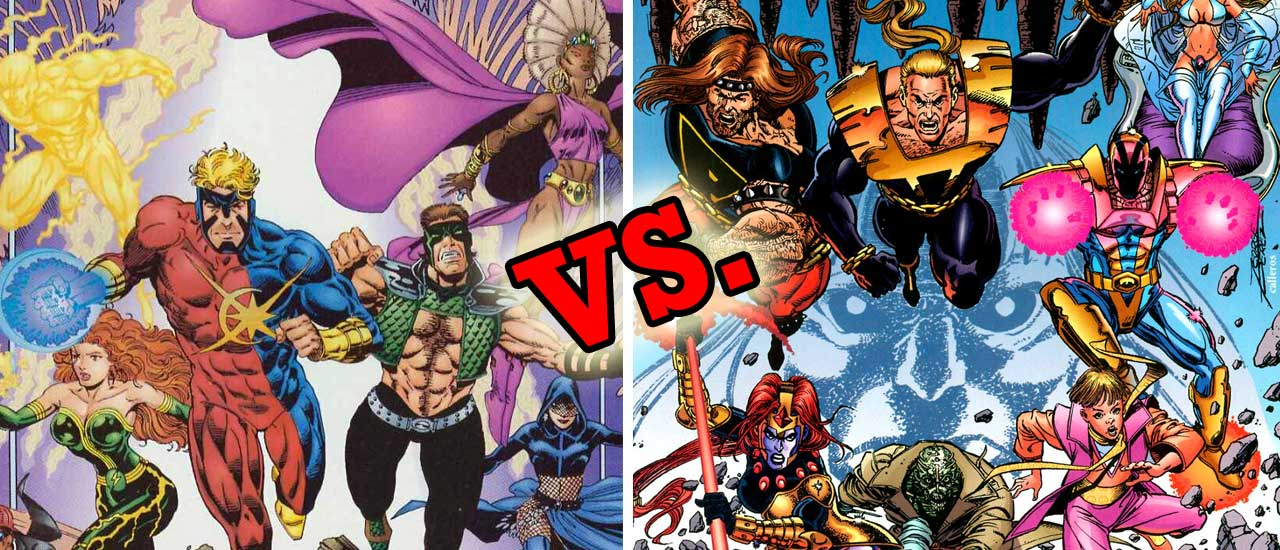 Strangers vs Ultraforce Slider