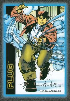 Freex Plug Ultraverse Trading Card