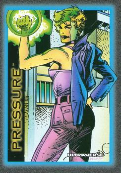 Freex Pressure Ultraverse Trading Card