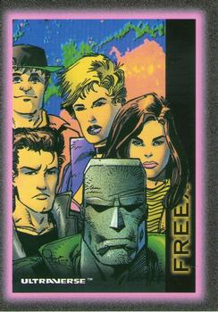 Freex Ultraverse Trading Card
