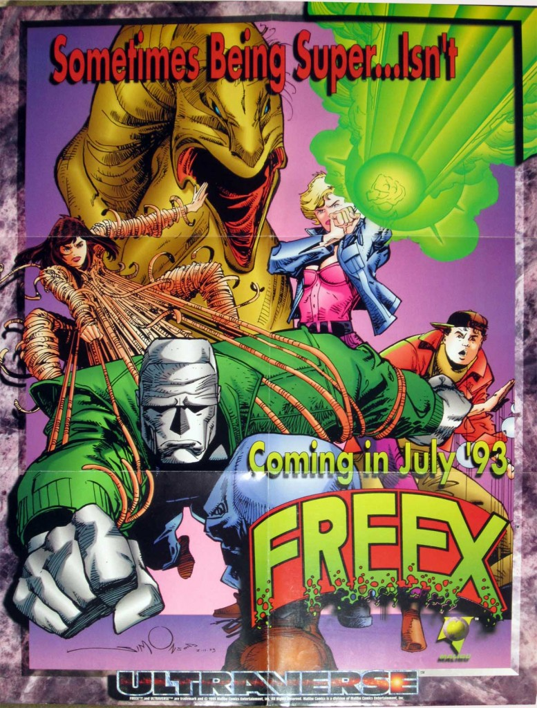 Freex Poster by Walt Simonson