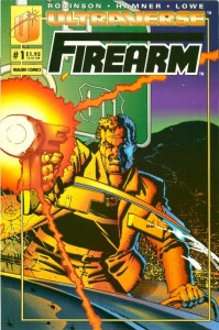 Firearm #1 cover by Howard Chaykin