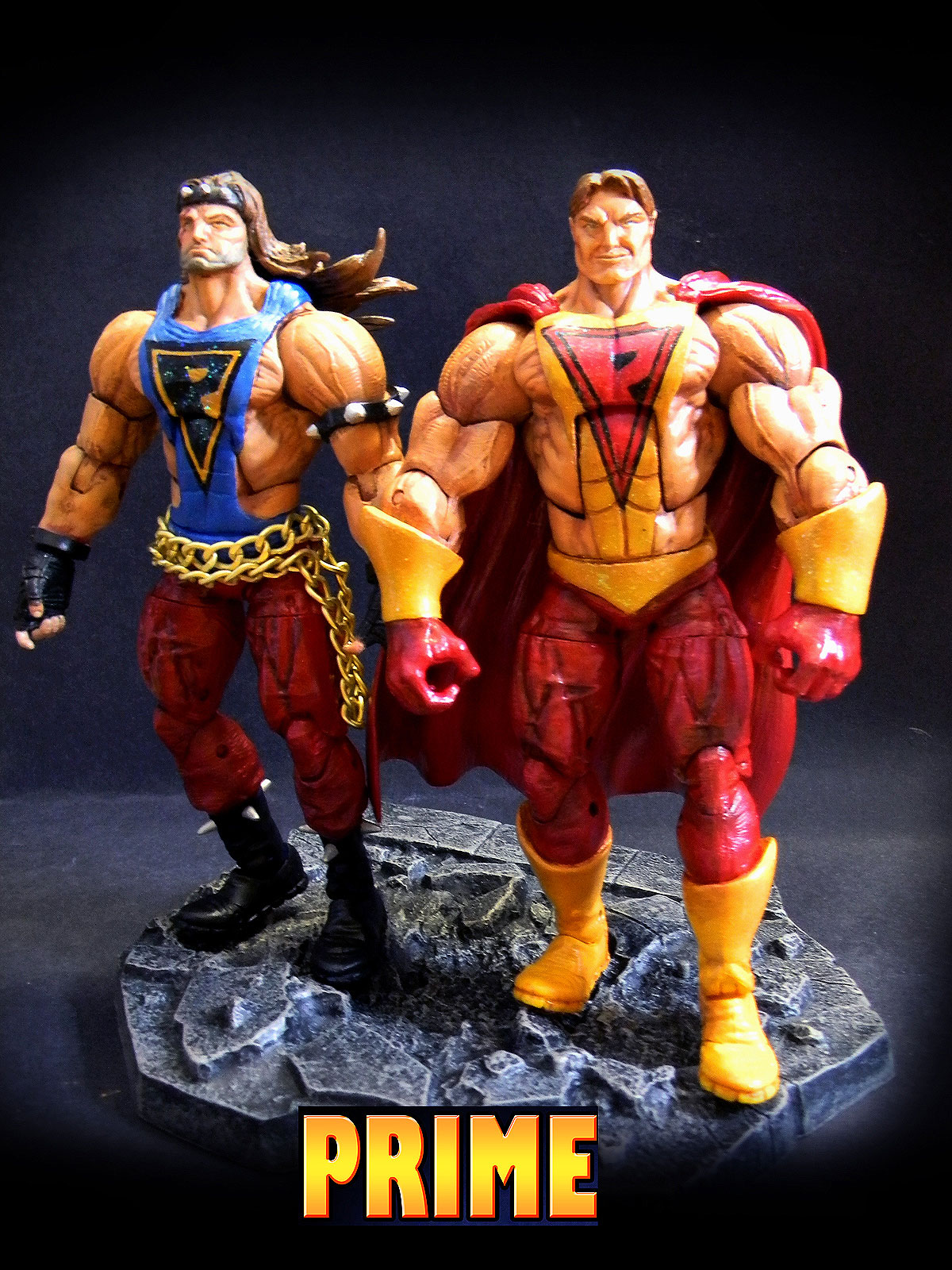 Prime Custom Action Figures - Ultraverse Network