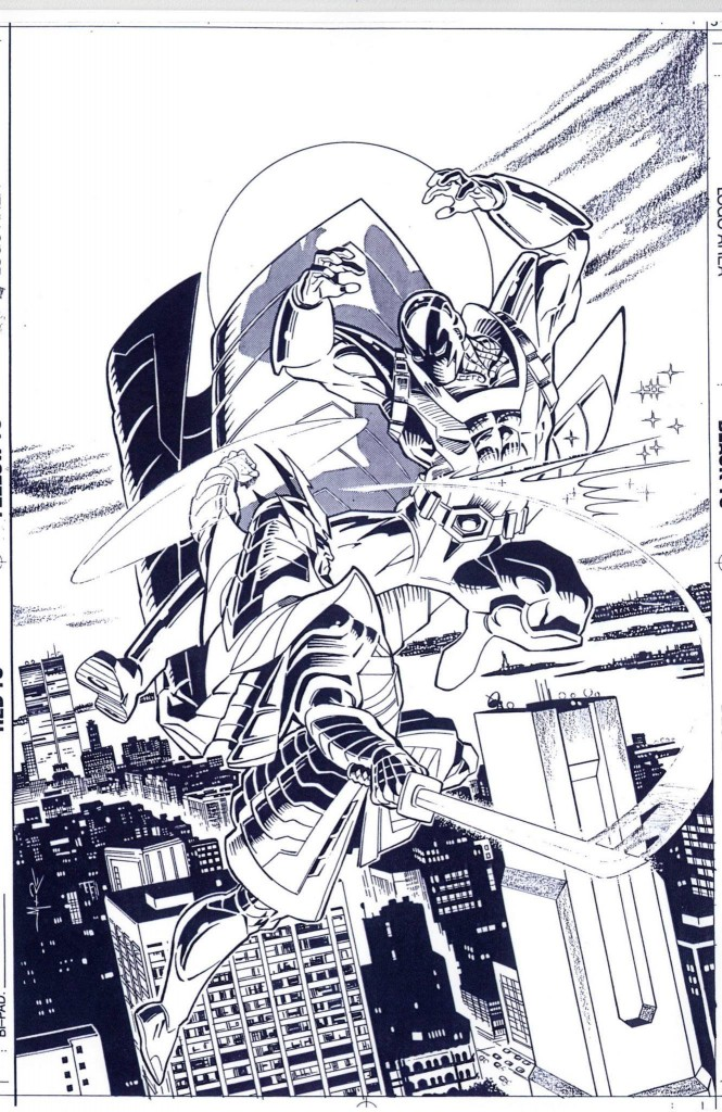 Prototype #7 cover by Jerome K Moore