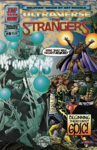 The Strangers #8 by Steve Englehart and Rick Hoberg