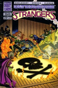 The Strangers #9 cover by Rick Hoberg