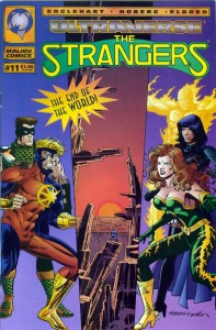 The Strangers #11 cover by Rick Hoberg