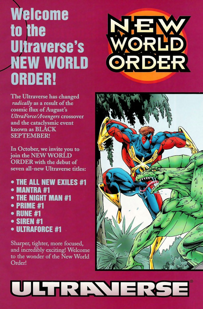 Ultraverse Black September - New World Order