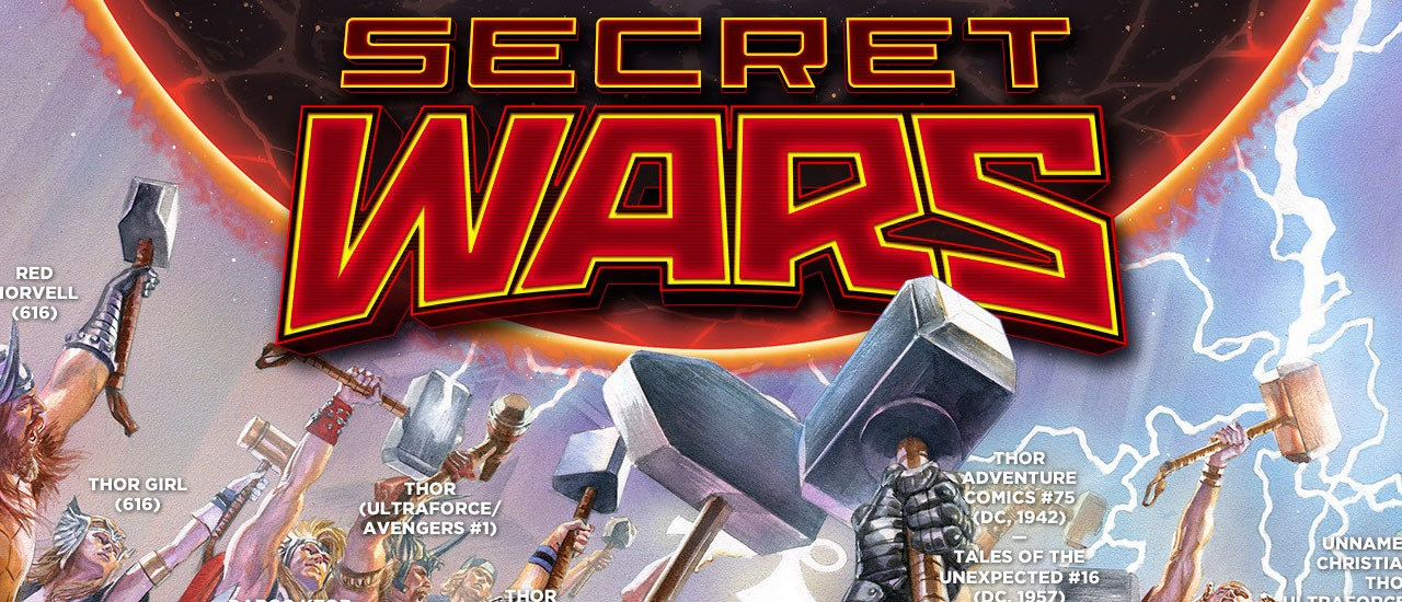 Ultraverse Thor on Secret Wars #2 Cover