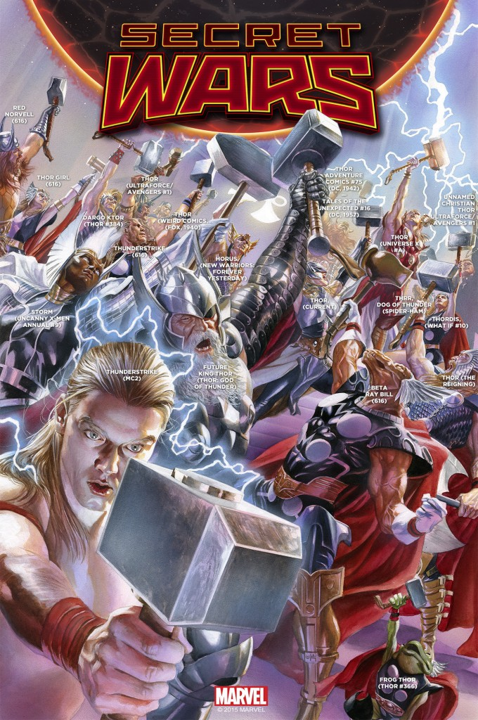 Secret Wars #2 Thor cover